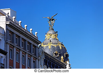 Madrid - Metropolis Building, Madrid, Spain