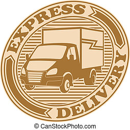 Express delivery symbol