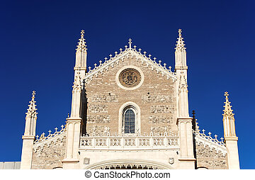 San Jeronimo el Real Church, Madrid - Facade of San Jeronimo...