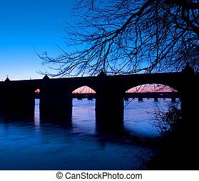 Harrisburg Pennsylvania Market Street Bridge - Harrisburg,...