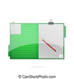 office folder symbol