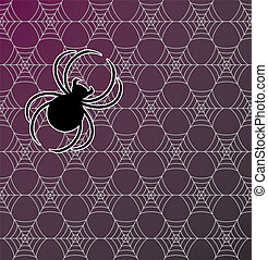 Spiderweb Seamless Background Patte