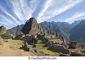 Macchu Picchu clouds - Amazing cloud formations over Macchu...