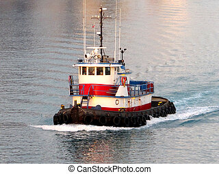 Working tug boat - Florida
