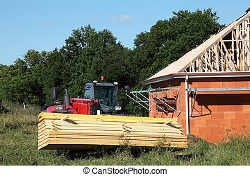 New House Construction Building