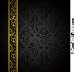 seamless gothic background. - Luxury seamless gothic...