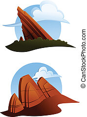 Red Rock Outcroppings