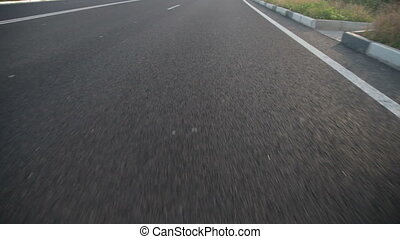 Speed open road