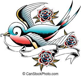 swallow emblem