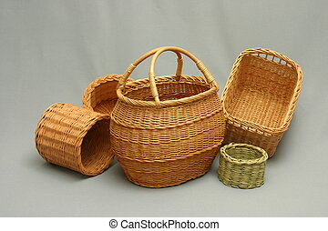 willow baskets - handmade wiloow baskets