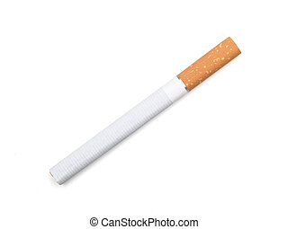 Cigarette - cigarette isolated on white background