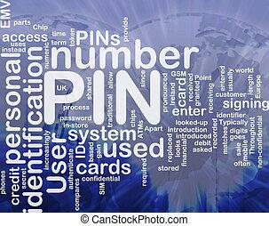 PIN word cloud