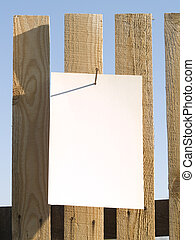 fence paper