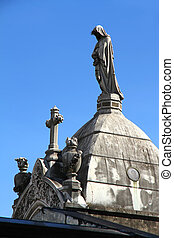 Statue in the Cemetery of Recoleta