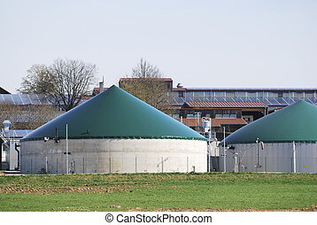 Biogas - Alternative energy production with biomass