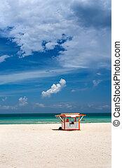 SUL, praia, Miami