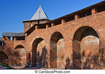 Nizhny Novgorod kremlin - North tower of Nizhny Novgorod...