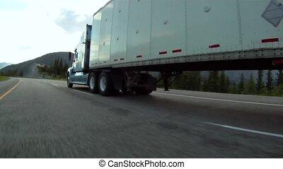 transporte, camión