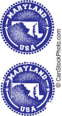 Maryland USA Stamps