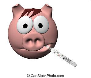 gripe, cerdos