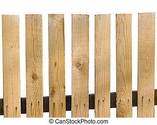 wooden planks - old wooden planks isolation on white