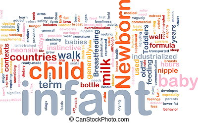 Infant baby background concept - Background concept...