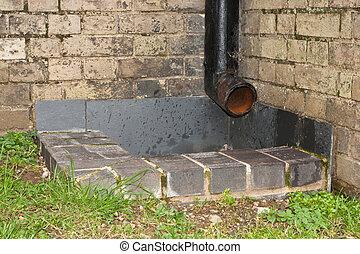 drainpipe - iron drainpipe