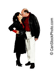 mature mixed interracial couple