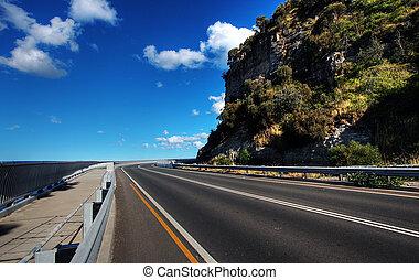 Sea Cliff Bridge along the Grand Pacific Drive