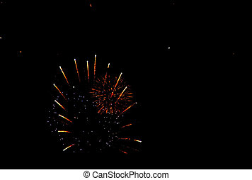 City Fireworks Display for Fourth of July