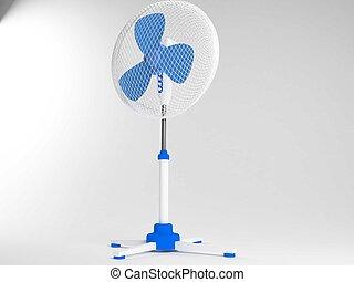The ventilator. - beautiful and versatile fan.