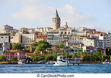 Beyoglu District in Istanbul - Beyoglu district historic...