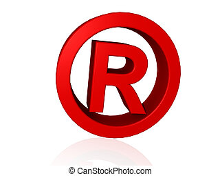 Registered Trade Mark 3d