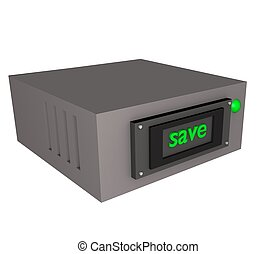 3d data save