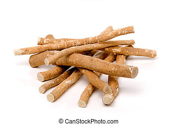 Miswak Sticks - Miswak sticks on a white background