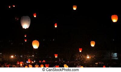 Night air lanterns
