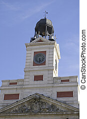 puerta del sol - the door bell of the sun, just the center...