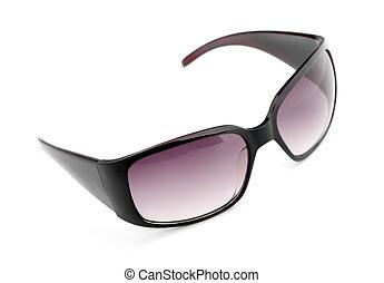 Eyewear - Isolated fashion sunglasses on white background