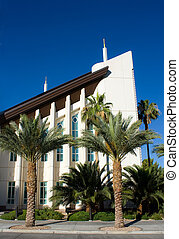Las Vegas Temple of The Church of Jesus Christ of Latter-day...