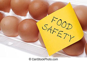 alimento, segurança, conceito