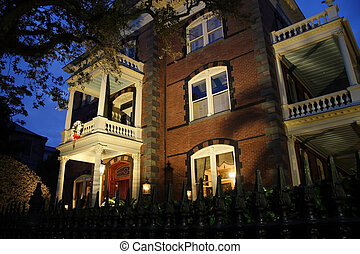 Calhoun Mansion - Historic Calhoun Mansion in Charleston,...