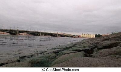 Embankment of the stones