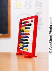 Abacus in class room