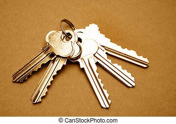 Keys - Five door keys