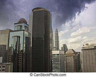 Modern Architecture in Kuala Lumpur, Malaysia