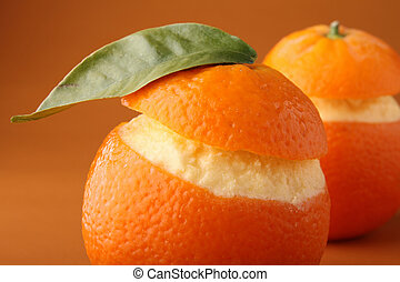 orange iced