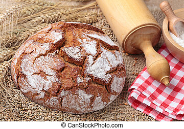 Traditional rye bread