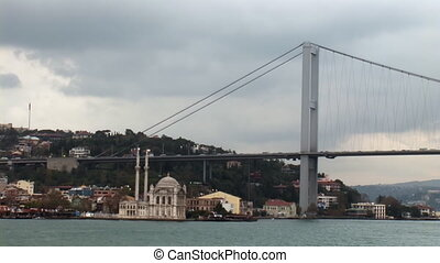 bosphorus bridge - bridge over the Bosporus
