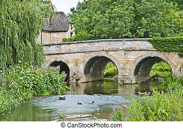 Bridge at Duddington Cambridgeshire - Bridge at Duddington,...