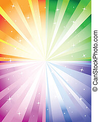 colorful background with burst - A colorful background with...